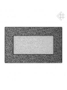 Kratka czarno-srebrna 11x17